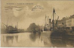Bruxelles   -   Bassin De L'entrepôt    -   Prince Léopold  London   -   1920   Naar   Blackpool - Maritime