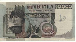 ITALY  10'000  Lire   (Banca D'Italia   30-10-1976  Baffi-Stevani) - 10000 Liras
