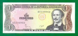 Dominican Republic 1 Peso Oro 1984 P126 UNC - República Dominicana