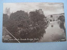 = AK Bath, View From North Parade Bridge - Bath