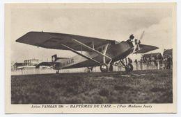 AVION FARMAN 190 MAISON NORMAND BAPTÊME DE L'AIR- RECTO VERSO-B91 - 1919-1938: Entre Guerres