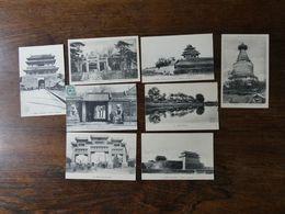 CHINE CHINA 8 Cartes Postales Anciennes Dont 7 Neuves Sur PEKIN Et Ses Environs - China