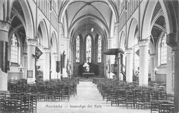 Damme Moerkerke Bij Brugge Inwendige Der Kerk Anno 1911      M 3806 - Damme