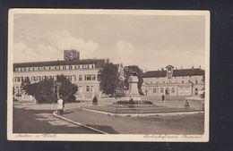 Dt. Reich AK Aalen Bahnhof Postamt 1931 - Aalen