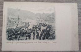 Ancienne Cpa 1900s CHINA Grosser Halt Detachement Hoffmeister Nach 2. Pass Guerre War Postcard CHINE Horses Boxer - Chine