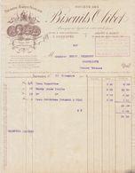 Paris, Suresnes, Société Des Biscuits OLIBET 1903 - Levensmiddelen