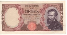 ITALY  10'000  Lire   (Banca D'Italia   Michelangelo  08-06-1970  Carli-Lombardo) - 10000 Liras