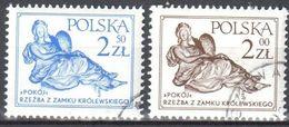Poland 1979 - Sculpture - Mi 2655-56 - Used - 1944-.... Republic