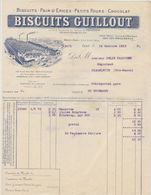 Issy, Biscuits Guillout, Pains D'épices, Petits Fours, Chocolat 1912 - Levensmiddelen