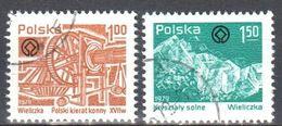 Poland 1979 - Wieliczka Salt Mine - Mi 2638-39 - Used - 1944-.... Republic