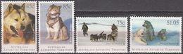 Antarctica - AAT 1994. Huskies Michel 98-101 MNH 27904a - Nuevos
