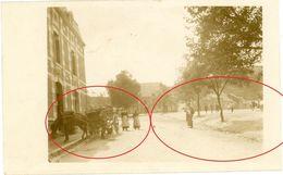 Fumay  -  Markt -  1914 -  3-3 Ardennes  -guerre 14/18-WWI Carte  Photo Allemande - 1914-18