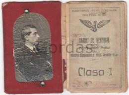 Romania - CFR - Carnet De Identitate - Europa