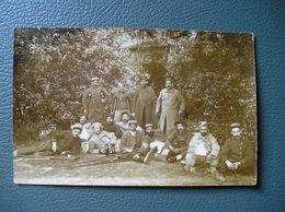 MONTPELLIER-WW1-2 CP PHOTOS- HÔPITAL AUXILIAIRE 3 - PETIT LYCEE DE JEUNES FILLES - JUIN/JUILLET 1916 - Montpellier