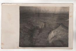 +3055, FOTO-AK, WK I, Fort Ressel, 42cm Granat-Treffer, Belgien??? - Oorlog 1914-18