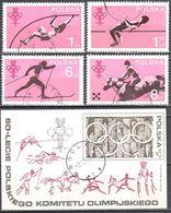 Poland 1979 - Olympic Games - Mi 2612-15+ms 74 - Used - 1944-.... Republic