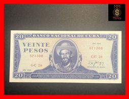 CUBA 20 Pesos  1990  P. 105  UNC - Cuba