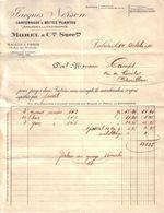 VAUCLUSE - VALREAS - CARTONNAGES - IMPRIMERIE - LITHOGRAPHIE - JACQUES NERSON , MOREL & CIE SUCCRS - 1920 - Imprimerie & Papeterie