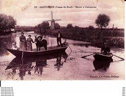 62. Nord : Saint Omer  . Marais De Clairmarais . - Saint Omer