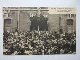 Sedan ( Ardennes),journée Du 1° Septembre 1910, Sortie De L'Eglise - Sedan