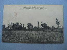 = AK 1919 Campagne D ' Oriente 1914 - 1918,  Kotori - Le  - Grand  -  Eglises Orthodoxes - Greece