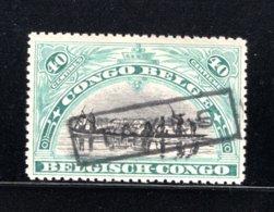 BEL. CONGO TX35 MNH 1909 - Postzegels Uitgifte 1910 Tweetalig - Belgisch-Kongo