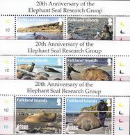 Antarctic.Falklands Islands.2016. Seal Elephant. MNH.27909 - Timbres