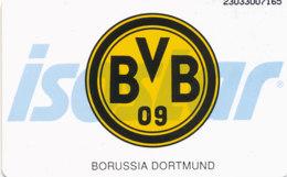 GERMANY Telefonkarte K  919  93 Borussia Dortmund, Isostar - Auflage 4000 - Siehe Scan - 15493 - Deutschland