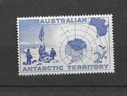 1957 MNH Australian Antarctic Toerritory Mi 1 - Nuevos