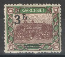 Sarre - YT 81 * MH - 1921 - Unused Stamps