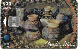 @+ TC Du Costa Rica : Así Es Mi Tierra. Tarjeta Típica 5 (2Nd Edition) - 366 000ex - 05/99 - Ref :  CR-C-36a - Costa Rica