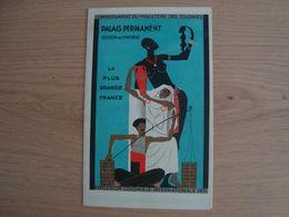 DOCUMENT PUBLICITAIRE EXPOSITION COLONIALE INTERNATIONALE 1931 - Pubblicitari