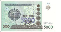 OUZBEKISTAN 5000 SUM 2013 UNC P 83 - Usbekistan