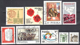 Poland 1980 - Single Stamps From 1980 - 13v - Used - 1944-.... Republic