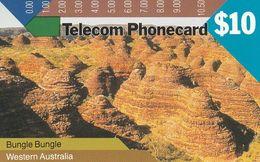 Australia, T6C3-3, Trial Cards - National States Series, 1991 Western Australia, Bungle Bungle, Mint, 2 Scans. - Australie