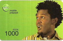 @+ Benin - Recharge GSM Glo - Homme (15/10/2011) - Bénin