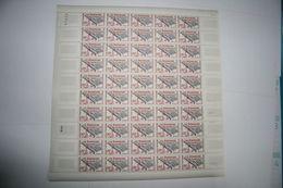 FRANCE 1959 FEUILLE ENTIERE 1220 HOMMAGE AUX DONNEURS DE SANG FEUILLE COMPLETE - Ganze Bögen