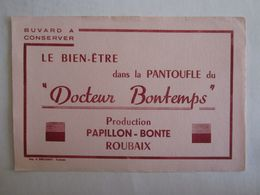 Buvards Buvard Docteur Bontemps Papillon Bonte Roubaix - Vloeipapier