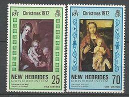 NOUVELLES-HEBRIDES N° 352 Et 353 NEUF**  SANS CHARNIERE   / MNH - English Legend