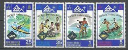 NOUVELLES-HEBRIDES N° 414 à 417 NEUF**  SANS CHARNIERE   / MNH - English Legend