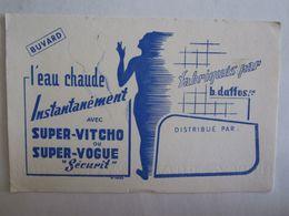 Buvards Buvard L'eau Chaude Instantanément Super Vitcho - Vloeipapier