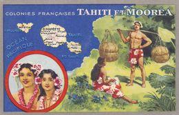 Océanie - Colonies Françaises Tahiti Et Mooréa - Tahiti