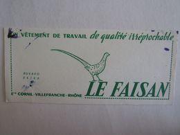 Buvards Buvard Vêtement Le Corfou Villefranche Rhône - Vloeipapier