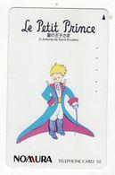JAPON TELECARTE Le Petit Prince Antoine De Saint Exupéry - BD