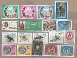 MNH (**) / Used (o) World Stamps Lot 4 Scans #23817 - Briefmarken