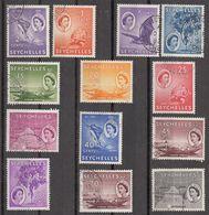 Seychelles 1954   13 Values  SG174  To  SG184   Used - Seychellen (...-1976)