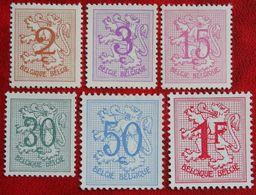 Heraldieke Leeuw OBC N° 1026A-1027B (Mi 1074 1174-1177 1233) 1957 1959 POSTFRIS MNH ** BELGIE BELGIEN / BELGIUM - Belgium