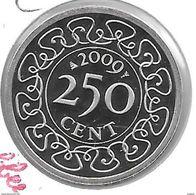 *suriname 250  Cents 2009  Km 24 Onley In Sets !!  Bu !! - Suriname 1975 - ...