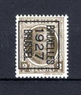 PRE148B MNH** 1927 - BRUXELLES 1927 BRUSSEL - Préoblitérés