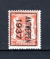 PRE323B MNH** 1937 - ANTWERPEN 1937 - Préoblitérés